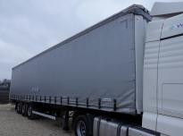 KRONE SD 35 Curtain trailer