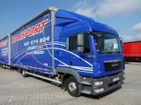MAN 12.250 TGL Crate truck