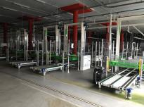 Instalacja pakująco - sortująca LONGOBARDI