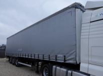 KRONE SD 35 Curtain trailer