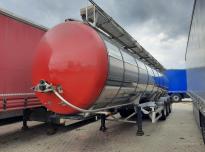 L.A.G. O-3-ST Tanker trailer
