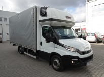 IVECO 35-180 Crate truck