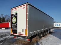 FLIEGL SDS 350 Curtain trailer