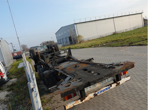 KRONE SD 35 Refrigerated trailer