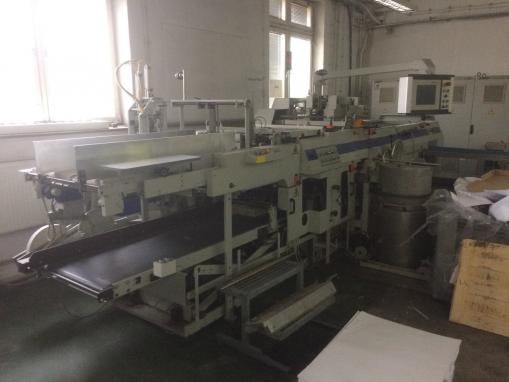 Automat do produkcji okładek KOLBUS DA 232