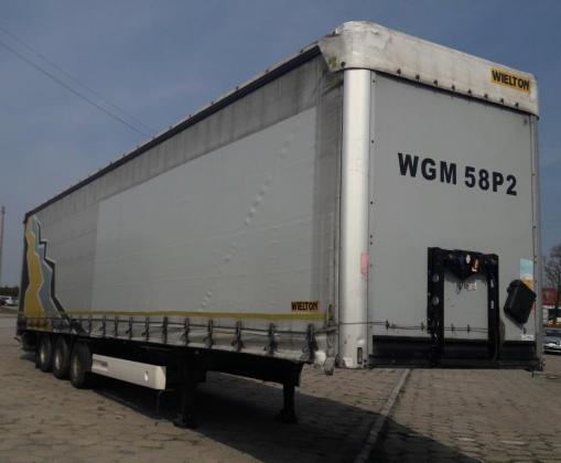 WIELTON NS 3 Curtain trailer