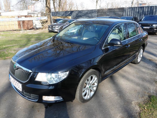 SKODA SUPERB II-2008 Sedan / Limousine