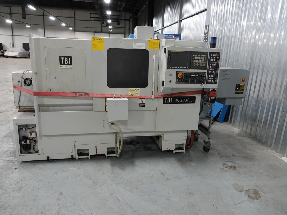 Tokarka CNC TBI TC200 65MC
